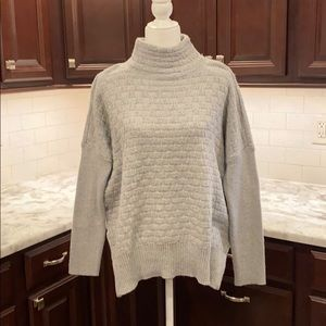 Vince Camuto gray mock neck sweater
